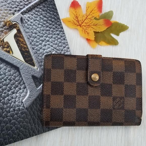 Louis Vuitton Handbags - Louis Vuitton Vintage wallet Damier ebene